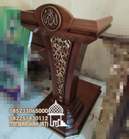 Podium Mimbar Minimalist Terindah Finishing Antik